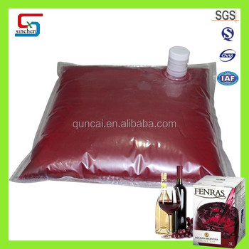 Quality warranty 24 months plastic flexible bag for liquid