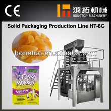 High speed automatic packing machine for dry vegetable