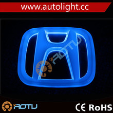 Factory Wholesale Auto Brand Light Emblem Badge Light 4D LED Car Logo/ car accessories logo