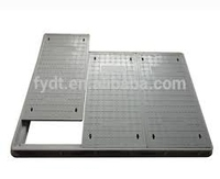 Roadside telecommunication en 124 manhole cover Double seal