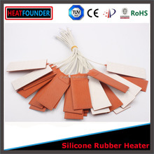 HEATFOUNDER CUSTOMIZED BATTERY POWERED WATER HEATER,SILICONE RUBBER HEATER 220V