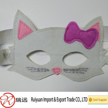 nice design laser cut felt eye mask for celebrate