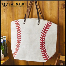 Wholesale Lightweight Baseball Tote Bag