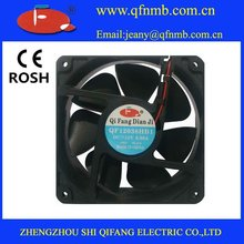 12-24 V square duct fan electric motor cooling fan
