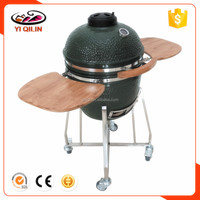 New Outdoor Kamado Green BBQ Egg Grill Ceramic BBQ Products