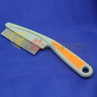 white small gill dog pet brush comb pet supplies Factory in cheap price
