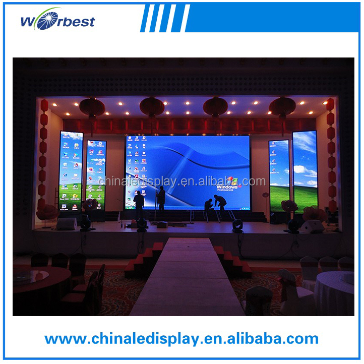 640mm * 640mm full color for video function P10 outdoor rental display
