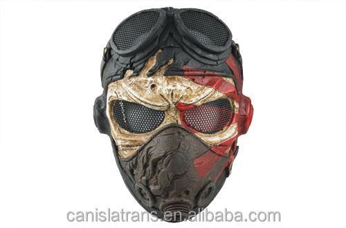 "military Wire Mesh ""Kamikaze"" Mask for full protecting/paintball airsoft safety mask"