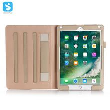 PU Leather Smart Cover with Wallet & Credit Card Slot Stand Cover for Apple iPad 9.7 2017