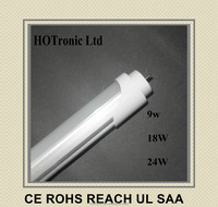 HONG KONG CE UL TUV ROHS SMD2835 T5 T8 T10 LED light tubes