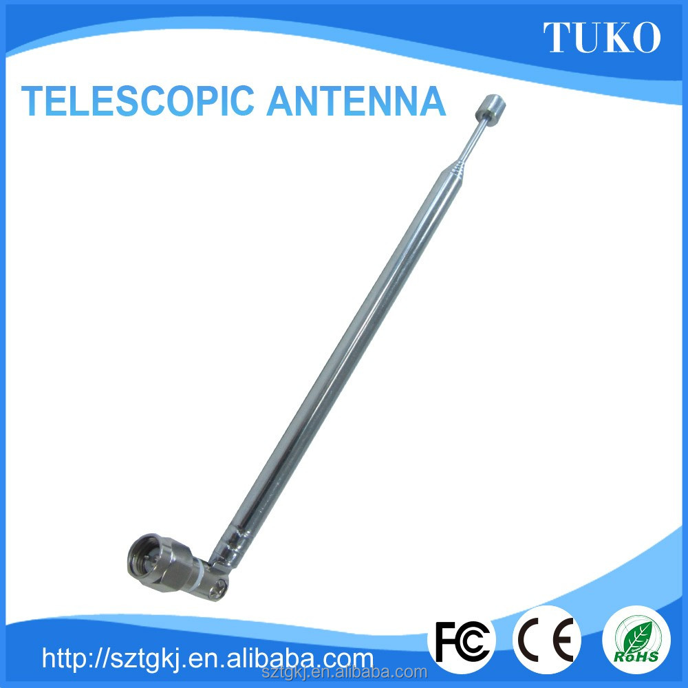 7 sections 440mm mast pole am radio telescopic antenna for TV