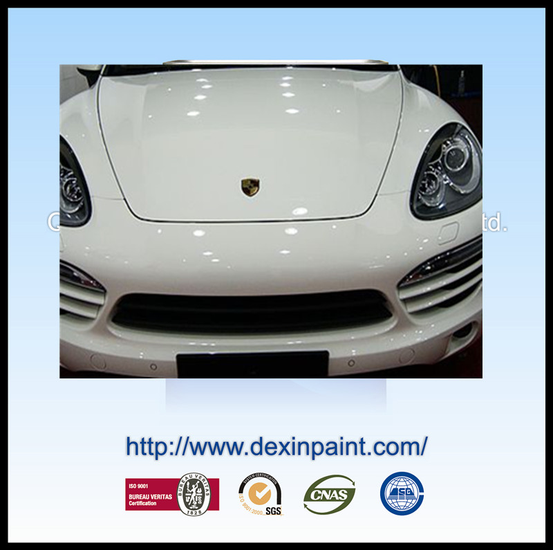 2k solid color white car paint