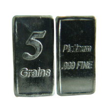 Best selling wholesale Platinum bars 999 bar