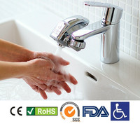 Water Saver Touch Free Faucet Adapter. Kitchen, bathroom or toilet faucet
