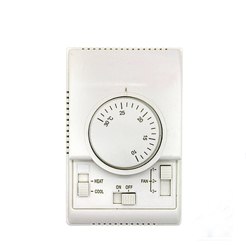 Mechanical air conditioner rotary switch thermostat