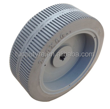 New 230 x 80 solid tyre Chinese manufacturer