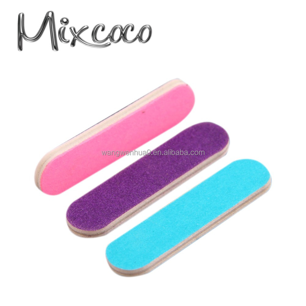 Best selling unique design mini match book nail file ,mini nail file with cute printing