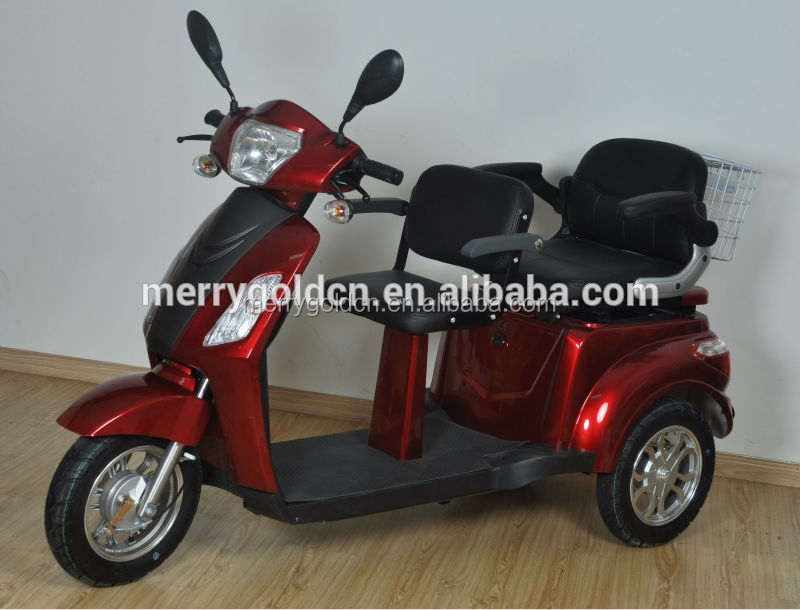 buy low price 3 wheel 2 seat electric mobility scooter for adults for disabled