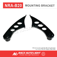 2009-2015 For Ford F150 SVT Raptor 50 inch Straight LED Light Bar Mounting Bracket