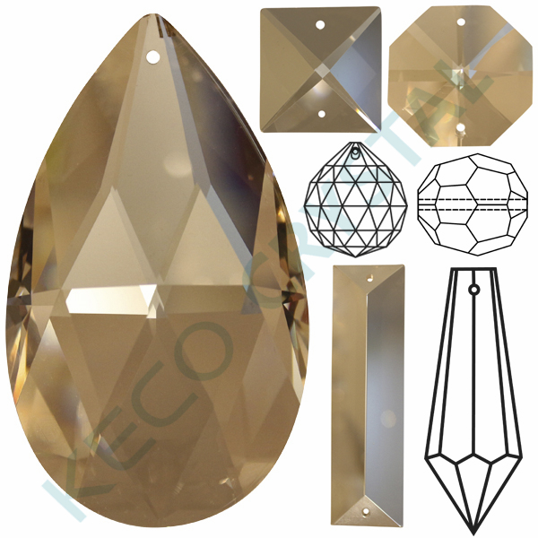Good quality chandelier crystals, keco crystal is a manufacturer of all types chandelier trimmings parts
