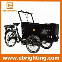 3 wheeler anti-theft mp3 player motorcycle cargo bike tricycles in german