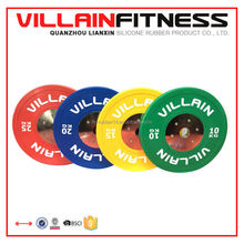 Brand Name barbell weightlifting equipment Competition bar and Competition plate