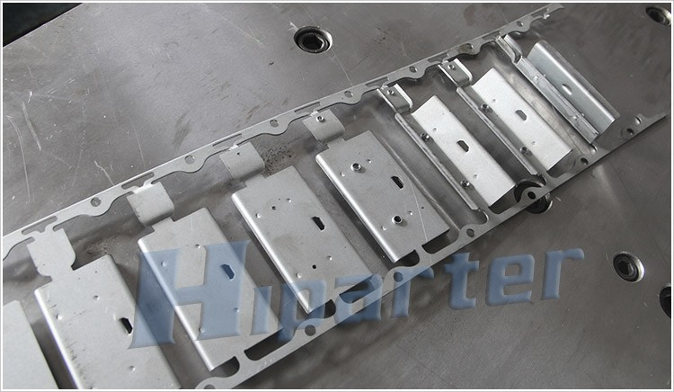 Refrigerator trim brackets metal progressive die in China