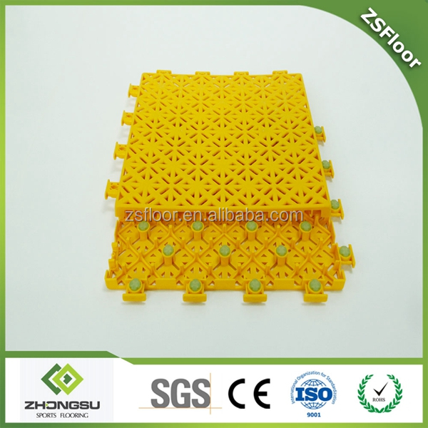 China hot gym flooring Indoor futsal court floor/pp Futsal Floor
