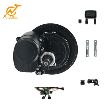 36v 350w TSDZ2 electric mountain bike beach cruiser mid motor kit with coaster brake