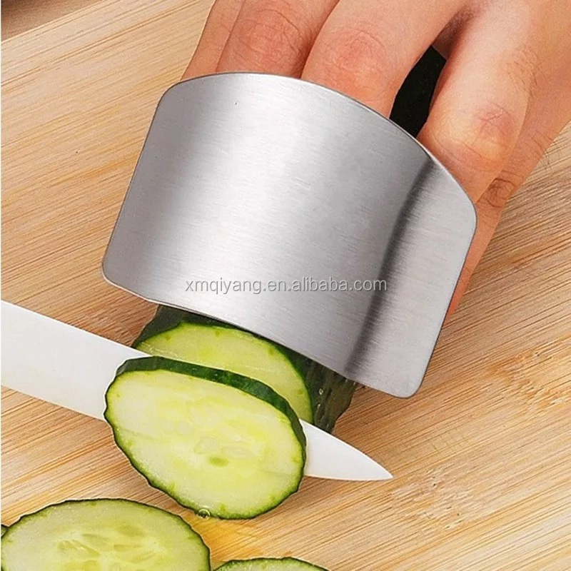Stainless steel finger cutting guard protector knife chop kitchen small tool
