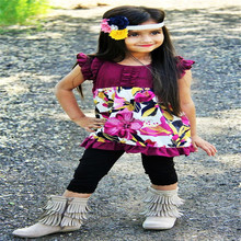 New Arrival Girl summer Clothes Fashion Baby Girl clothing