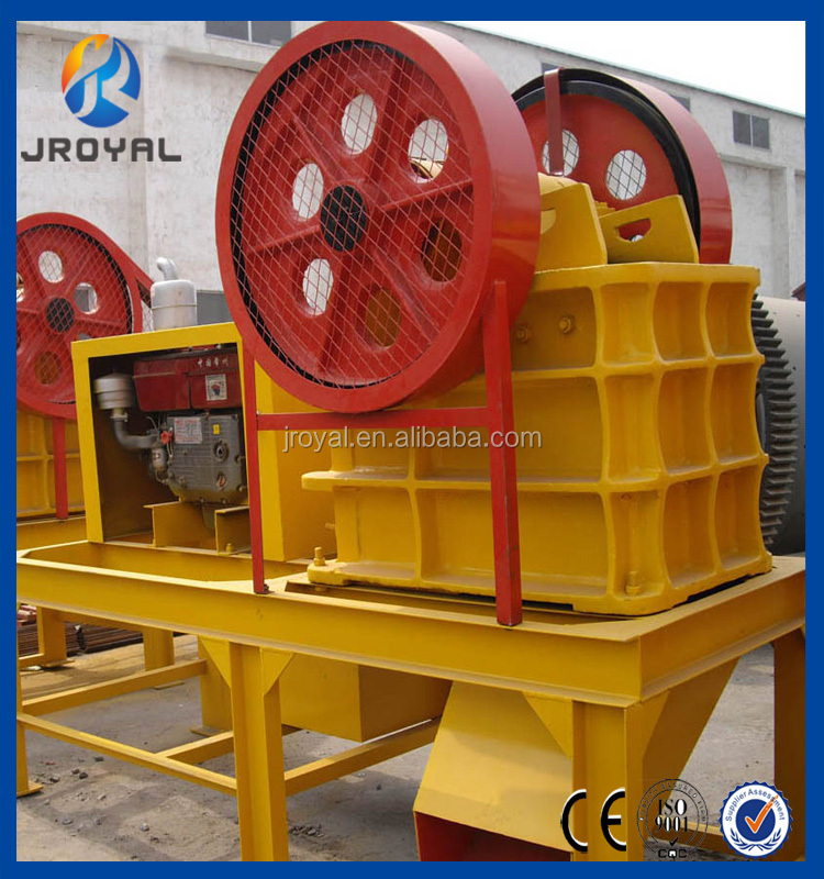 China Professional Small Portable Diesel Engine PE 250X400 Jaw Crusher for Sale