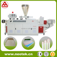 Conical Twin Screw Extruder with Factory Price