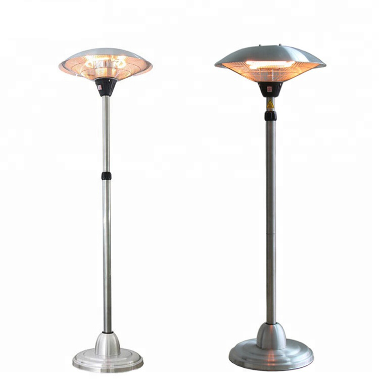 Freestanding Carbon fiber tube Outdoor infrared patio electrical <strong>heater</strong>