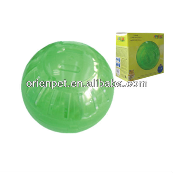 pet hamster exercise ball two half balls with color box