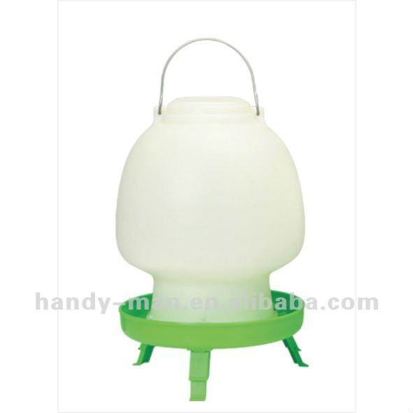 12L With Legs Plastic Feeder for Chicken Poultry Ball Type Drinker