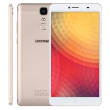 Brand New free shipping Original DOOGEE Y6 Max 3GB+32GB mobile phone 4G unlocked 3G 2G cell smartphone Gold