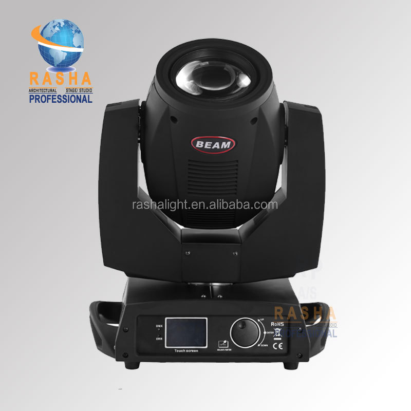 Rasha Hot RPAS 200W Sharpy Moving Head Beam Light,Dual Prism 7R Moving Head Light,Stage Moving Head