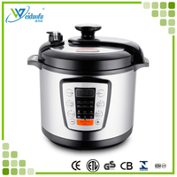 Hot sale multifunction LED digital electric pressure cooker 5L/6L with CE/CB