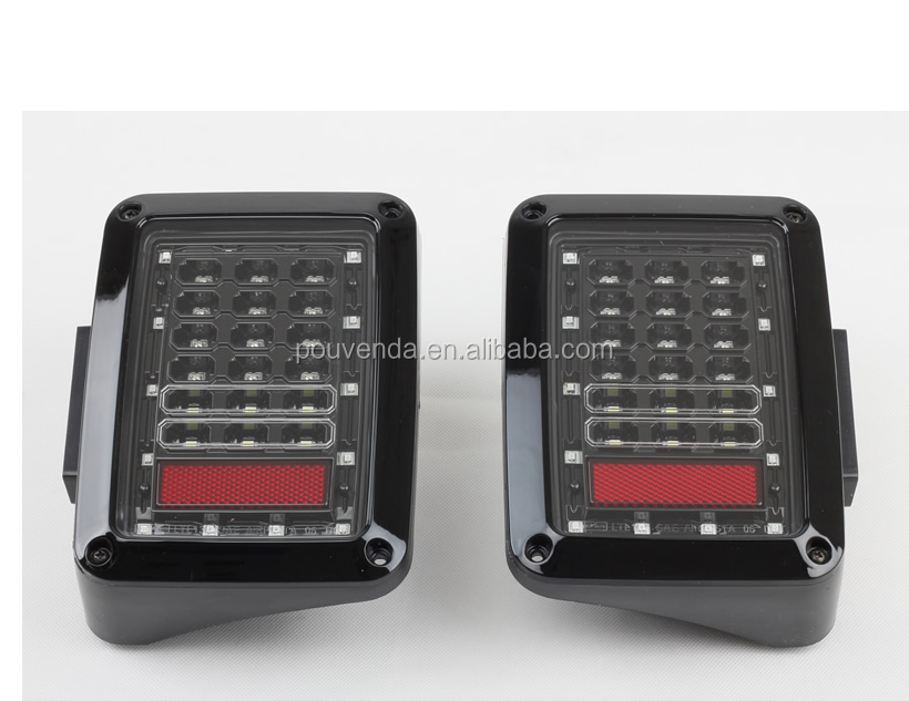 LED Taillgiht Rear Lamp For Jeep Wrangler JK 2007+ from pouvenda