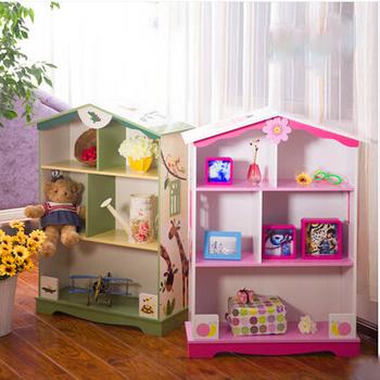 Childrenu0027s Shelving Storage Cabinets Lockers Bookcase House Style Bookshelf