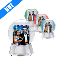 LED Light Up Photo Snow Globe