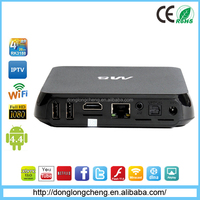 High Speed Wifi Android TV box with Camera digit box for youtube