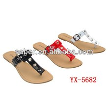 YX-5682 Saber Wholesale Latest Sandal for Women 2014