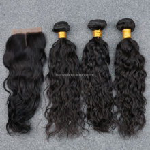 Wholesale 100% Human Remy Brazilian Hair With Closure