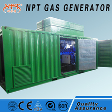 Customized silent 400kw natural gas generator set for sale