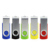 Promotion Gift Pendrive Memory Stick mini with custom logo Swivel Twister Shaped USB Flash Drive