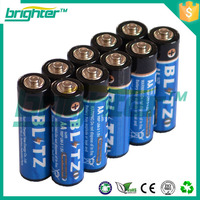 Factory Price of 1.5V R6P AA Battery Dry Cell Battery from China