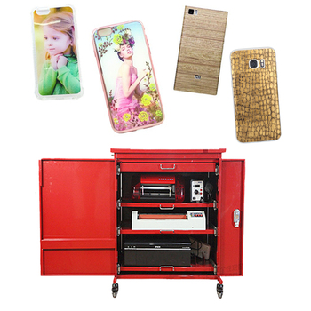 High profits low risk business of custom phone sticker making machine