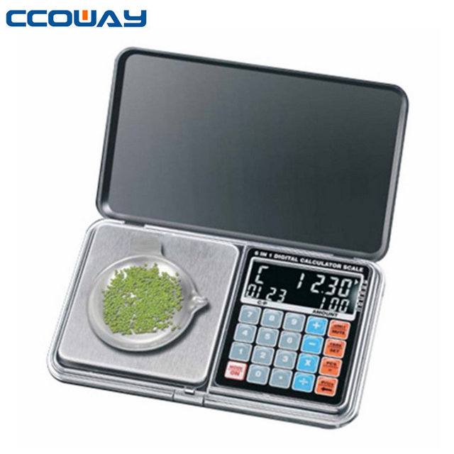 Multifunctional calculator digital scale for jewelry